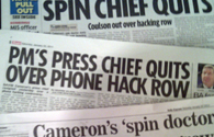 Tabloid phone-hacking coverage